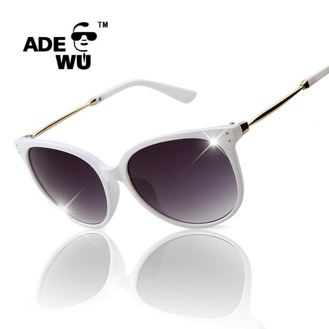 c13f3e2a0f Sunglasses Woman Famous Brand Designer White Glasses Frame Fashion Elegant  Point Cat Eyes Hipster Eyewear occhiali