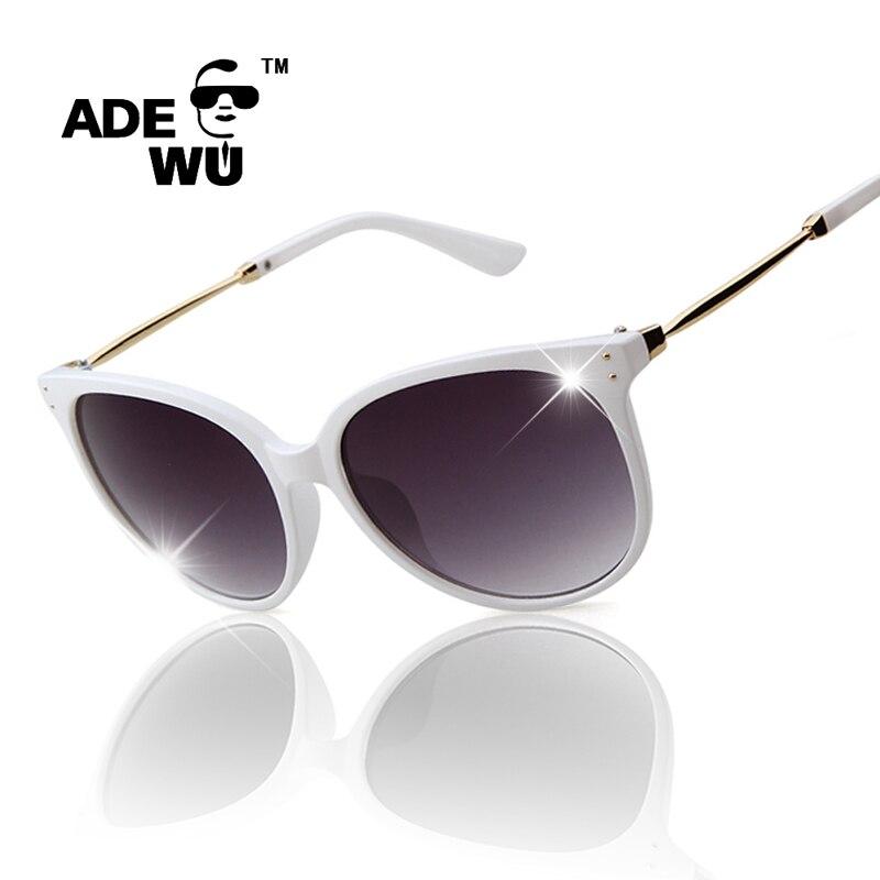 Sunglasses Woman Famous Brand Designer White Glasses Frame Fashion Elegant Point Cat Eyes Hipster Eyewear occhiali da sole donna ...