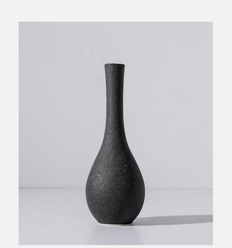 Modern Grind ceramic Vases For Table Decor