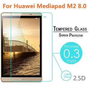 For Huawei Mediapad M2 8.0 Tablet Tempered Glass Protective Film Explosion-proof Screen Protector For M2-801L M2-801w M2-802L