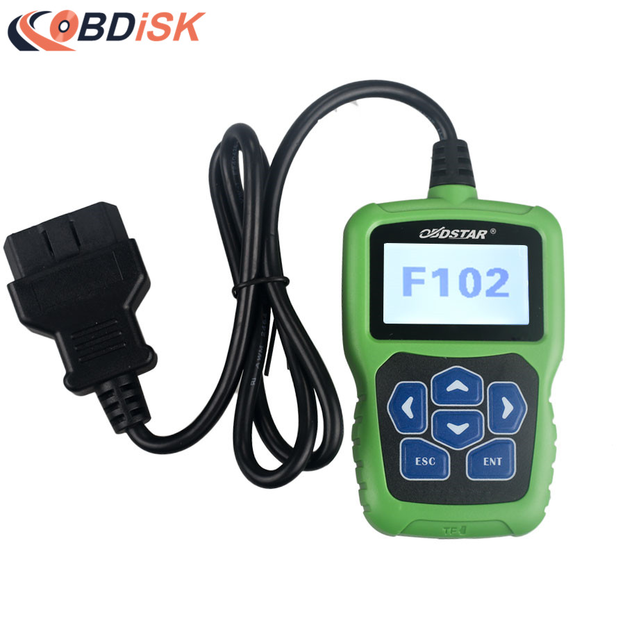 OBDSTAR F102 Pin Code Reader for Nissan/Infiniti F102 Auto Key Programmer with Immobiliser and Odometer Function