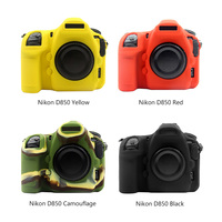 PULUZ New Soft Protective Body Cover Skin Camera Cover Bag Silicone Case Rubber Camera case For Nikon D850 DSLR Camera Protector