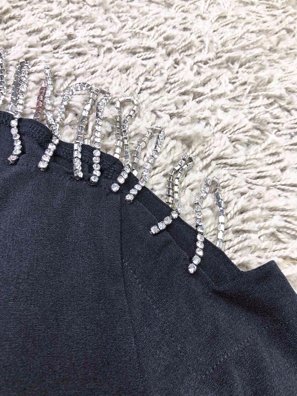 Printemps Creux 2019 Nouveau Ddxgz3 Chandail Femmes Diamants Encolure z7OBwxOd