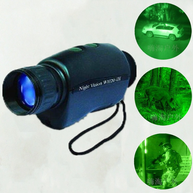Cheap 2X34MM IR Lighting Monocular Night Vision Scope and Goggles 100~150m