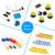 Frete grátis! kit placa de ensaio para arduino uno r3 starter keyestudio com fio dupont + led + resistor + pdf