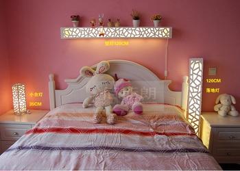 Lámpara De Fondo LED Tallada En Pared De Salón Minimalista Moderna Lámpara De Noche Para Dormitorio Lámpara De Estante Lámpara De Pared Creativa FG613