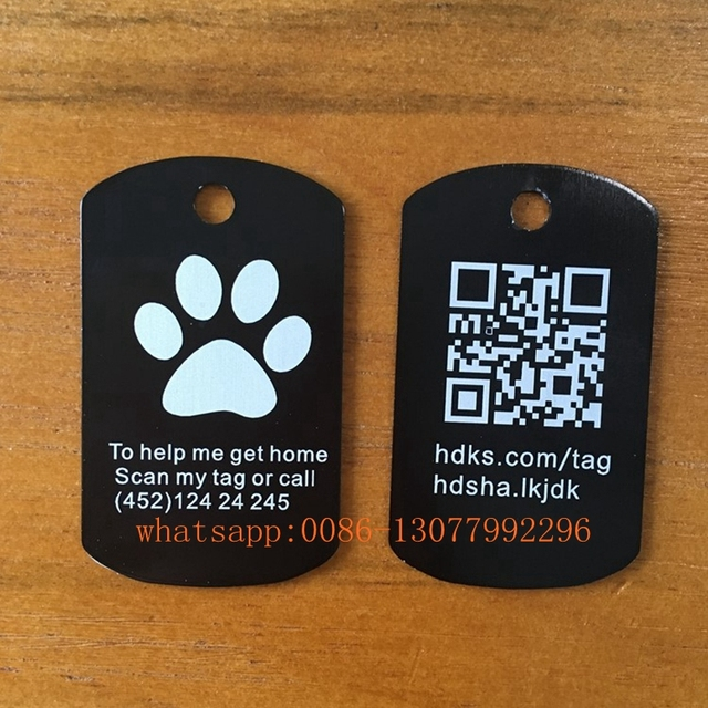 aliexpress com buy 20pcs custom engraved dog tag stainless steel