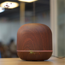 GX Diffuser Portable Wooden Ultrasonic Aromatherapy Essential Oil Aroma Air Humidifier For Yoga &Office Fogger