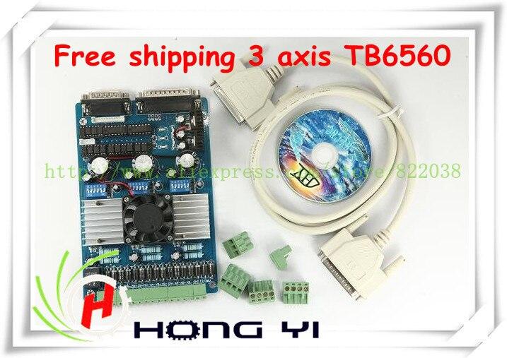 3 axe TB6560 3.5A CNC machine de gravure stepper carte de commande de moteur 16 segments stepper contrôleur de moteur