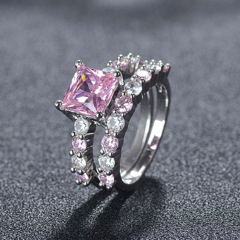 NEW ARRIVAL elegant RING   durable Plated exquisite Ring luxury women lady gift cz wedding Popular