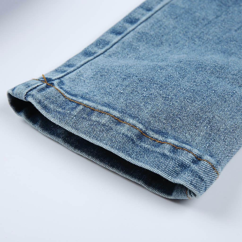 HTB1YPwvSCzqK1RjSZFLq6An2XXa2 modis Women Elastic Butto Tassel Loose  Denim Casual Small Feet  Slim Fit Jeans vaqueros mujer calca jeans feminina 2019#4