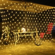 6Mx4M 672 LED  Net Lights Christmas Xmas Fairy String Holiday Wedding Party Decoration AC 220V WarmWhite White Blue blue 180 led christmas decoration string lights 18 meter 220v ac