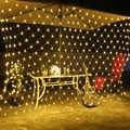 6M x 4M LED Net String Light 220V Leds Kerst Guirlande LED Faiy Xmas Party Stage Indoor decoratieve Licht