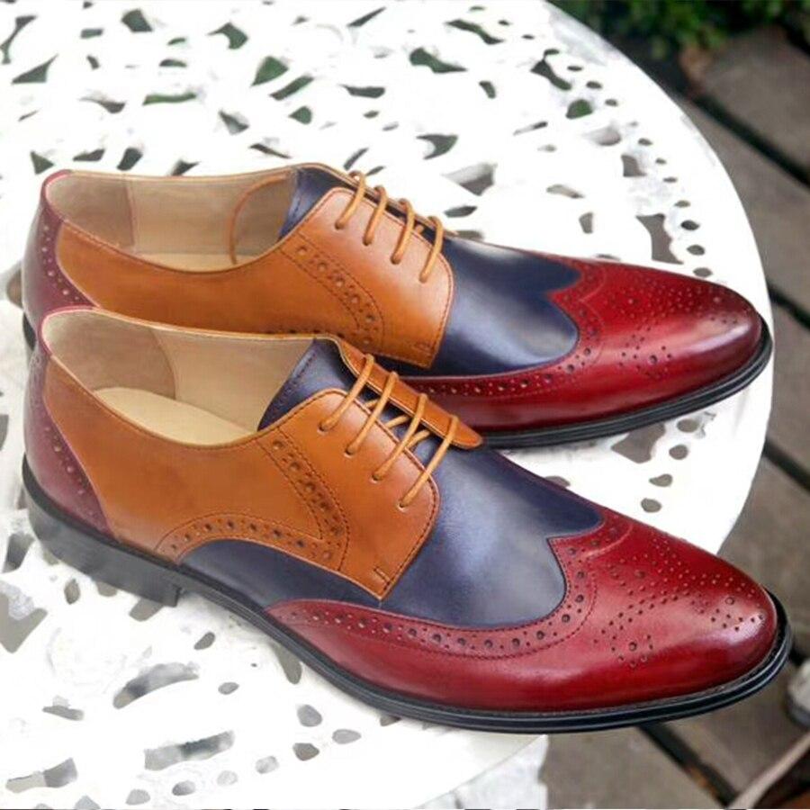 Zapatos formales de cuero oxford para hombre, zapatos de oficina para hombre, zapatos de oficina para hombre, zapatos para hombre, zapatos de boda hombre-in Zapatos formales from zapatos    2