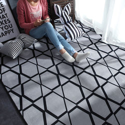 Nórdico moderno tapete de poliéster e tapetes para sala estar criança crianças jogar tapete quarto banheiro casa tapete alfombra