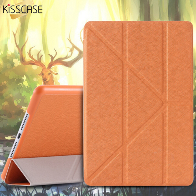 KISSCASE Magnetic Flip Leather Case For iPad Mini 4 Auto Smart Sleep/ Wake Up Stand Holder Tablets Cover Cases For iPad Mini 4 luxury ultra slim stand smart cover pu leather case for apple ipad mini 2 3 4 with auto sleep wake magnetic flip cases