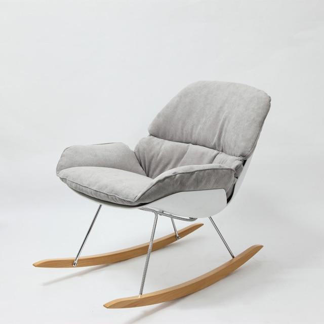 Awesome sedie a dondolo design sh57 pineglen - Sedia dondolo design ...