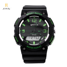 Men Sports Watch Army Military Wristwatch Multifunctional Electronic Outdoor Watches Unisex 3Bar Waterproof Shock Proof Watches