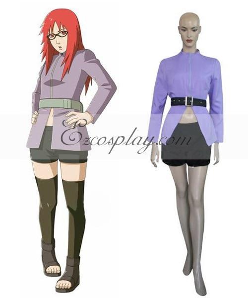 Naruto Shippuuden Karin Cosplay Costume Set E001