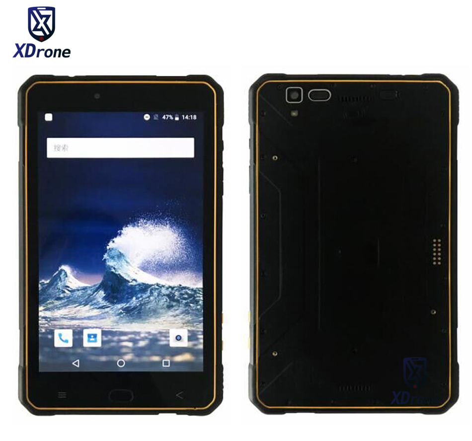 "Original Kcosit K917 Rugged Slim Tablet PC Phone Ultra thin Waterproof Android 8.0 3GB RAM Octa Core 8"" 4G 2D Scanner UHF RFID
