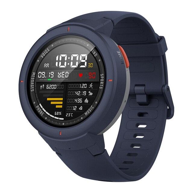 Amazfit Verge Sport Smartwatch GPS Bluetooth Microphone Speaker Pedometer Message Push Heart Rate 2