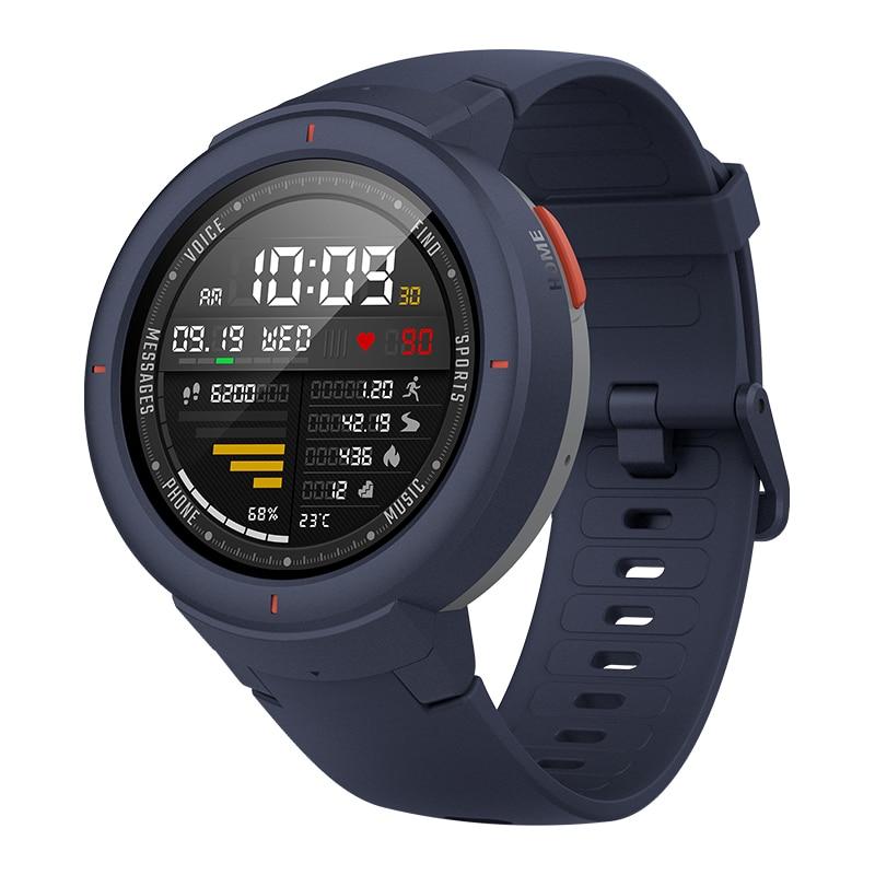Version mondiale Huami Amazfit bord Sport Smartwatch GPS Bluetooth musique jouer appel réponse Message intelligent pousser moniteur de fréquence cardiaque - 3