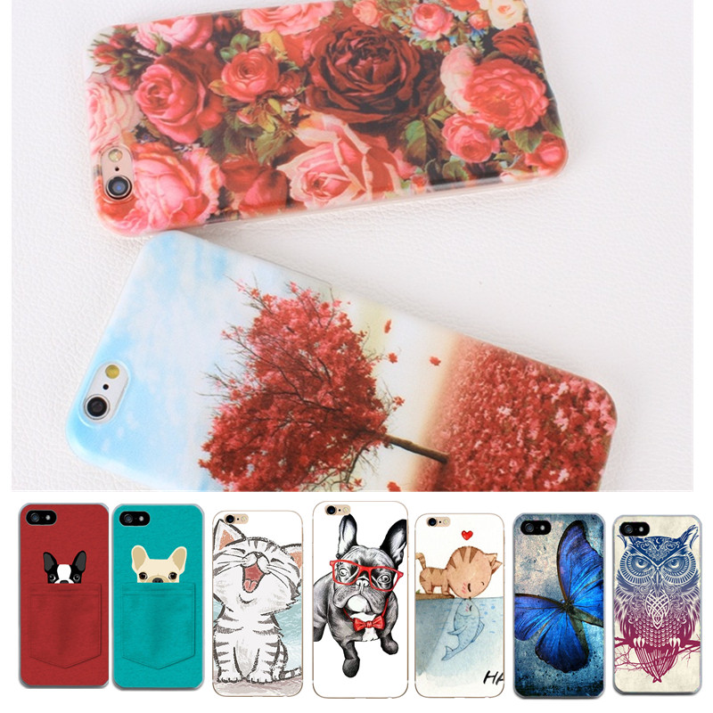 Phone Case For iphone 6s 6 Case For iphone X Cover For iphone case 7 8 6 6S 8Plus Soft Silicone case For iphone 8 Accessories