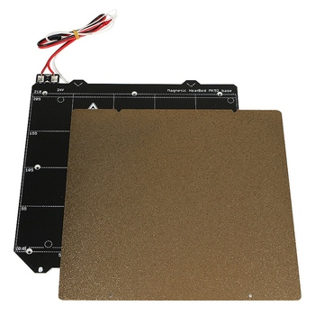 3D Printer Accessories With Magnetic Heating Bed + Textured Layer Elastic Steel Plate For Prusa I3 Mk3S Mk2.5