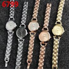 2017 new arrival mulheres pulseira relógio de Luxo da marca Mulheres dresswatch totalmente em aço inoxidável Analógico Quartz Watch Relogio melhor presente