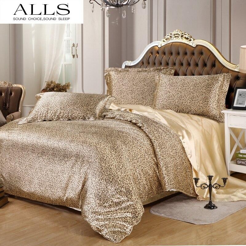 Popular King Size Leopard Print Comforter Set Buy Cheap