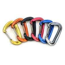 2 PCS High Duty Carabiner 12KN Ultralight Clip Outdoor Camping Hammocks Traveling Backpacking Wire Gate Carabiners