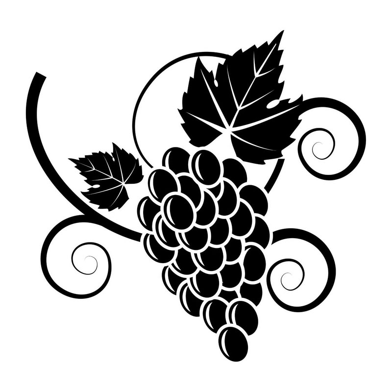15 4 15 2cm Delicious Grape Vines Car Stickers Cartoon