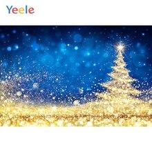 Yeele Golden Pine Star Light Bokeh Backdrops Portrait Photography Background Customized Photographic Backdrop For Photo Studio