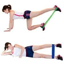 500mm Yoga Spænding Latex Loop Gym Crossfit Styrke Modstand Bands Fitness Kvinder Pilates Sæt Elastic Training Workout Expander