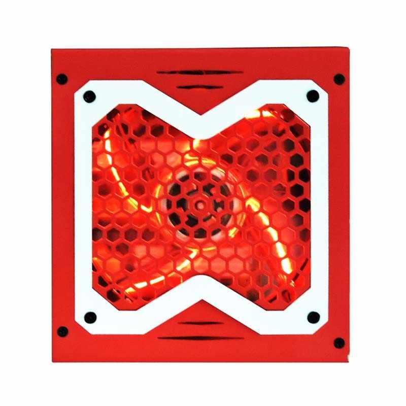 xinhang atx 24pin 12v 520w pc power supply 520w psu for game color led  desktop computer