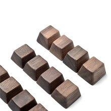 Walunt wood keycap oem 프로필 mx 기계식 키보드 r4 r3 r2 r1 wasd 화살표 키 6.25u