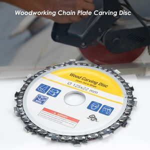 Image 5 - 5 Inch Chain Grinder Chain Saws Disc Woodworking Chain Plate Tool 5 Inch Multi Functional Wood Carving Disc Angle Grinding Tool