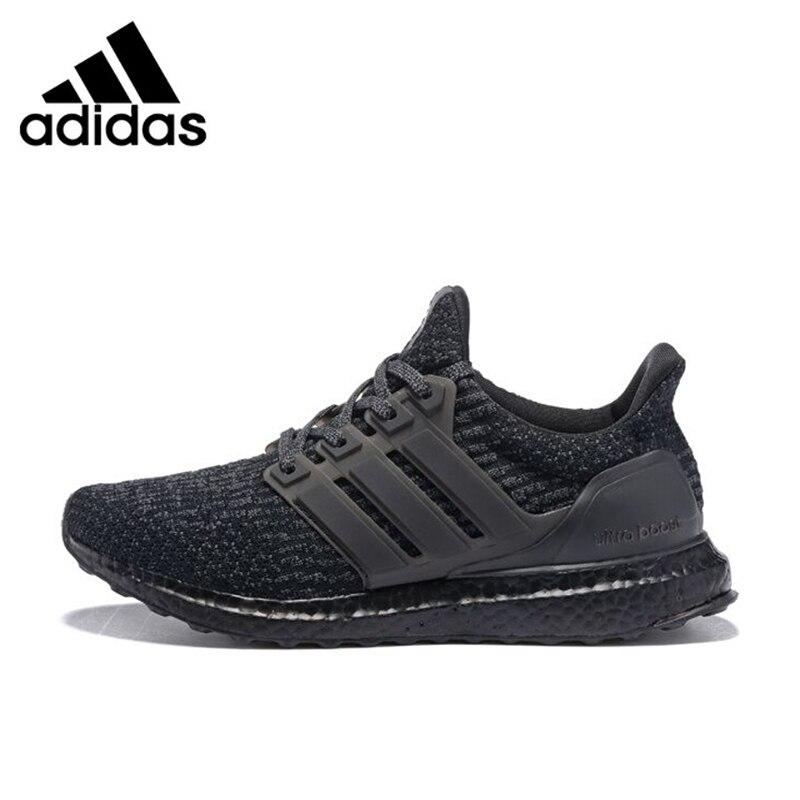 Adidas Ultra Boost Triple Black Men Running ShoesShock Absorption Non-slip Abrasion Resistant Lightweight BA8923 EUR Size M