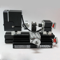 Free Shipping Mini Lathe Machine 12000r Min 110V 240V Saw Workbench Area 90 90mm Mini Lathe