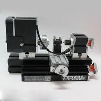 Free Shipping Mini Lathe Machine 12000r/min 110V 240V saw Workbench area 90*90mm Mini Lathe Machine Tool metal plate