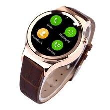 2016 luxus Bluetooth Smart Uhr T3 + Herzfrequenz Uv-detektion armbanduhr SIM-TF-KARTE Smartwatch T3S Für Android iOS Pelz gürtel