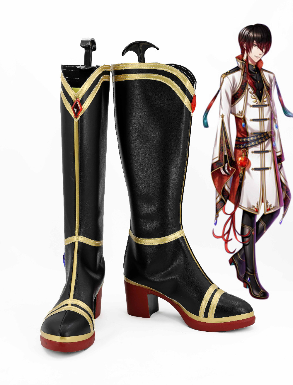Anime 100 Sleeping Princes & The Kingdom of Dreams Koyasu Takehito Shoes Original Boots Custom Made For Adult Men Women