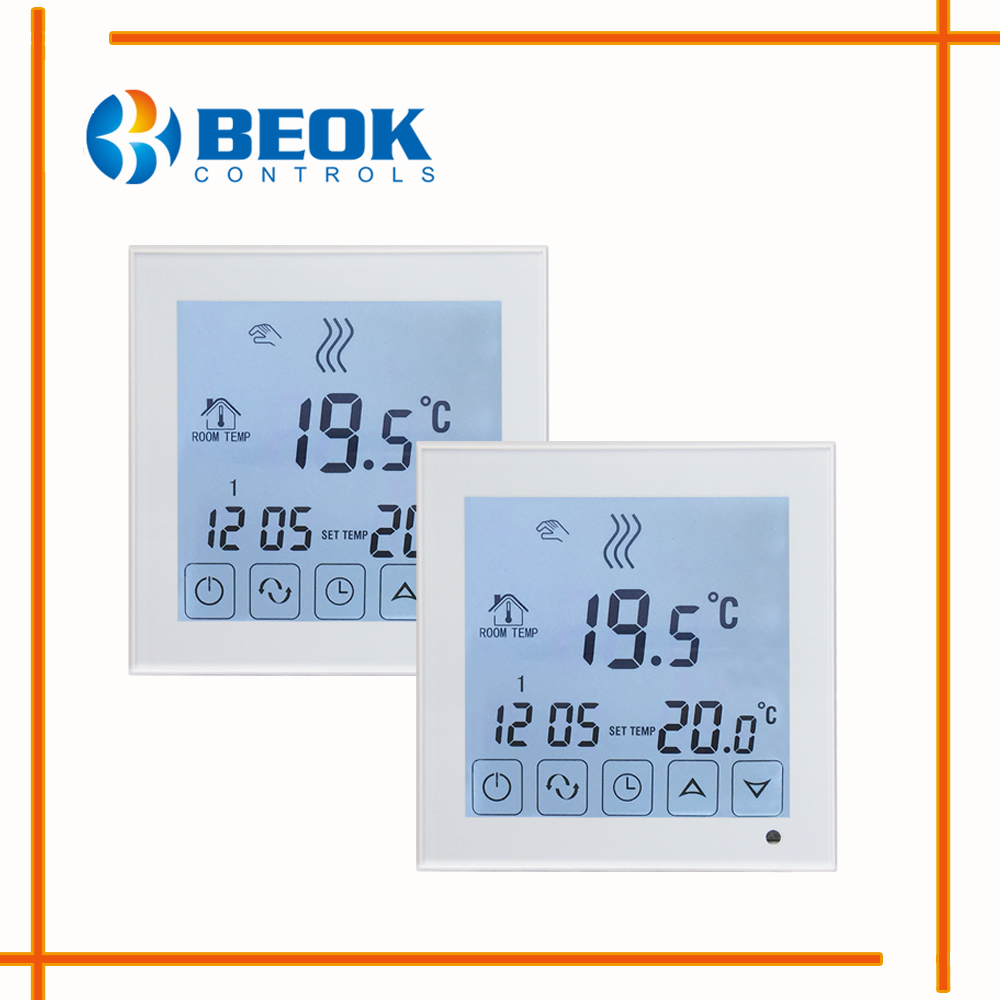 2pcs BOT323 Free Shipping 3A Room Thermoregulator Gas Boiler Heating Thermostat For Gas Boiler System