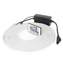RGB LED Strip Neon Light AC220V 2835 SMD Flexible Tube
