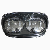 HG 839A2/ Head Lamp 2 * 5 3/4 inch Dual headlights LED motorcycle accessories for Harley Road Glide Headlight