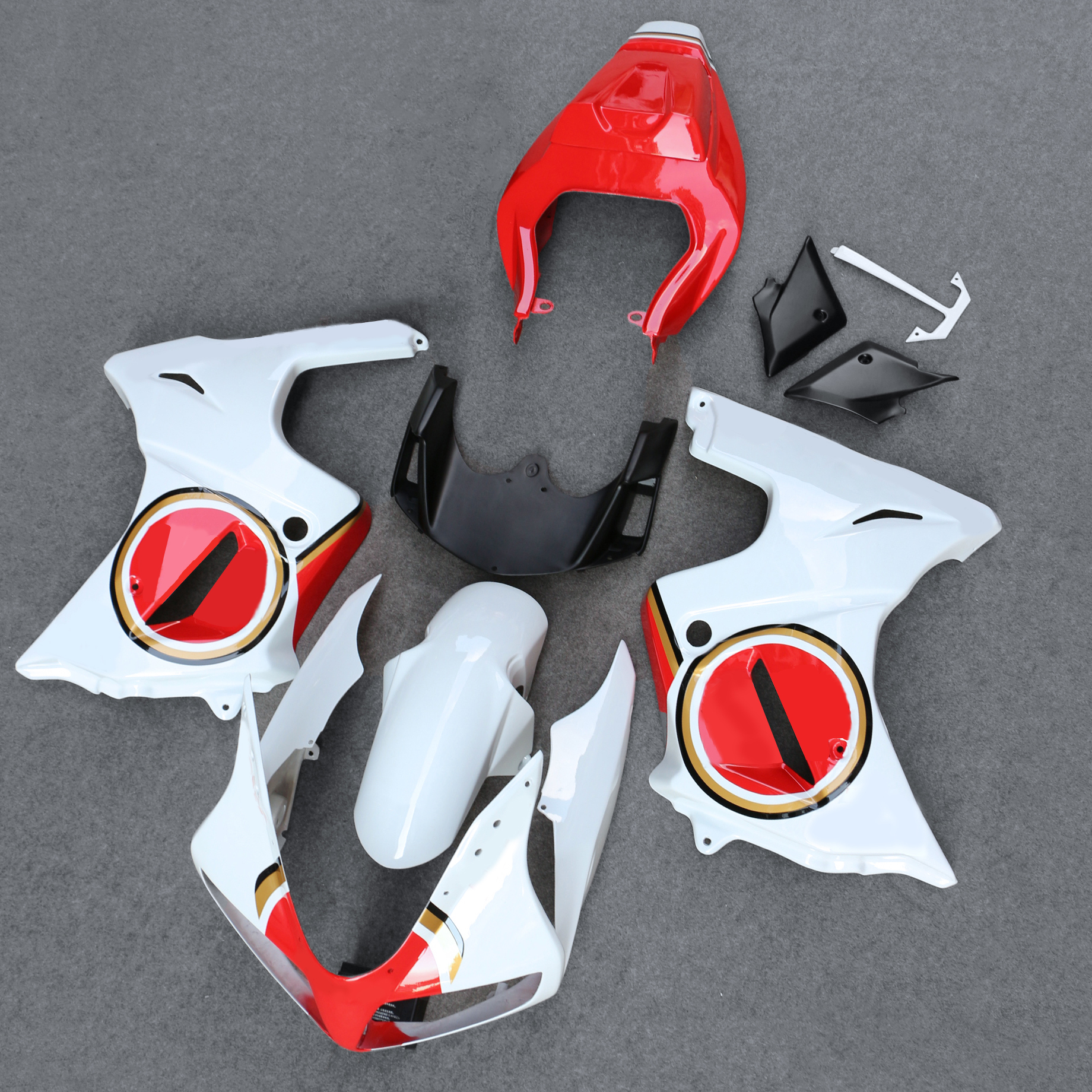 Fairing Bodywork Kit Panel Set Fit For SV650s SV 650 S 2003-2012