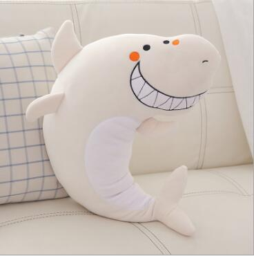WYZHY Shark plush toy doll pillow shark can dolphin holding sleeping rag doll child girl gift 50CM in Stuffed Plush Animals from Toys Hobbies