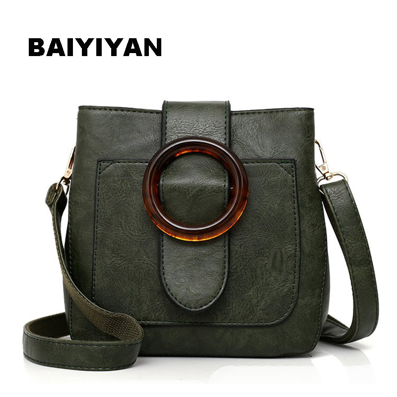 High Quality Retro Women Crossbody Bag Soft PU Leather Fashion Shoulder Bag Vintage Small Bag Casual Ladies Saddle Bag