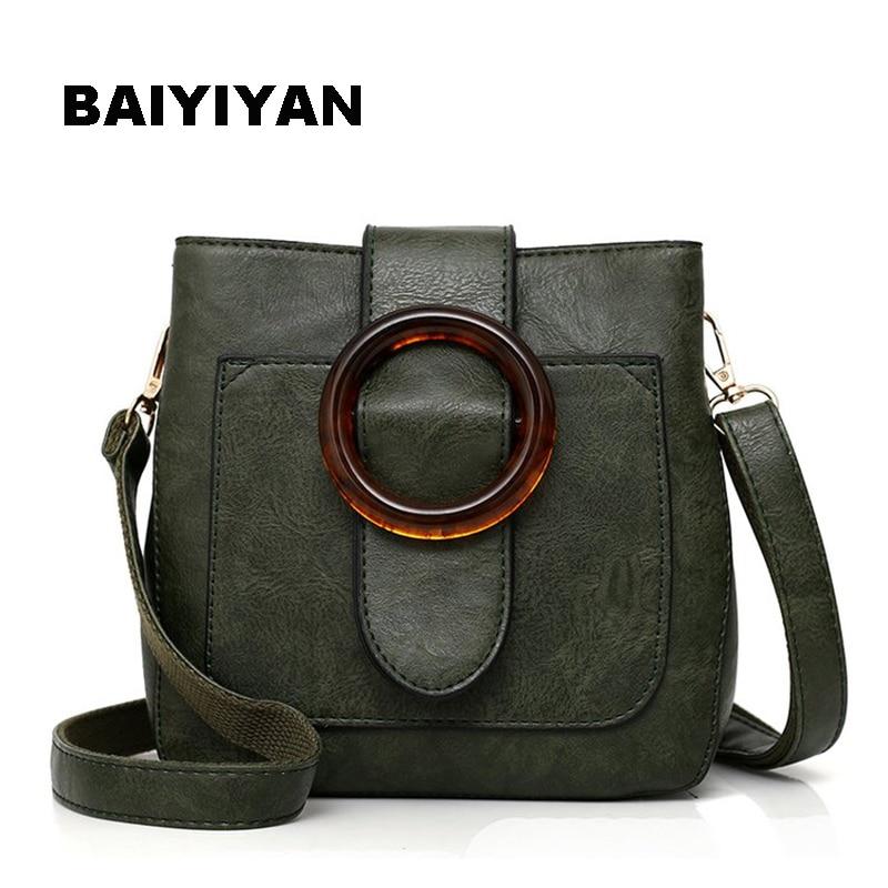 High Quality Retro Women Crossbody Bag Soft PU Leather Fashion Shoulder Bag Vintage Small Bag Casual Ladies Saddle Bag