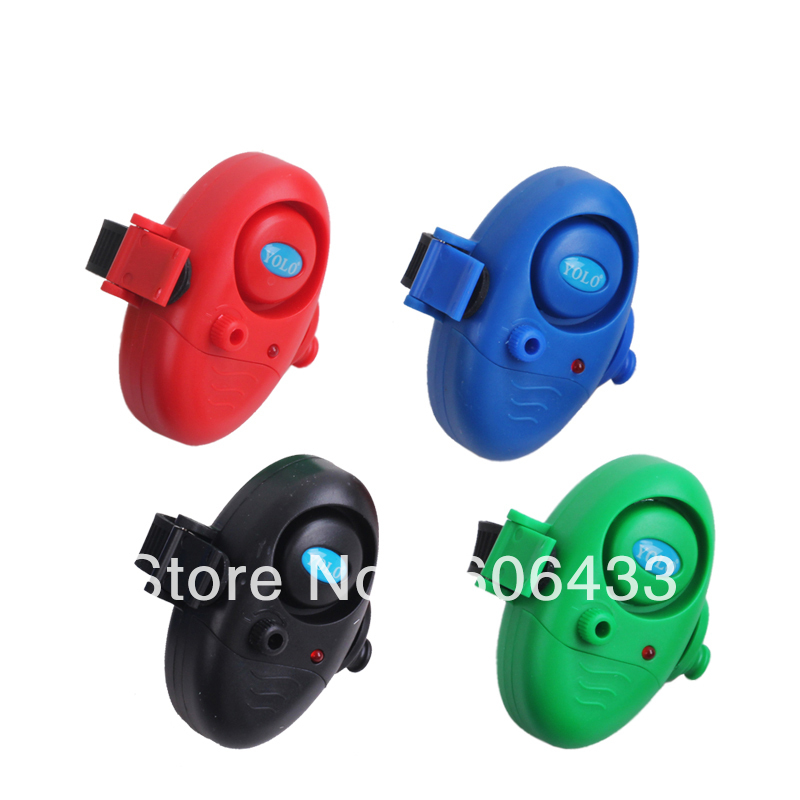 4PCS Fishing Bite Alarm Rod Sound Buzzer LED Light - Fishing